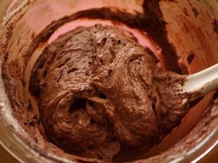 ハロウィンのチョコカップケーキ02
