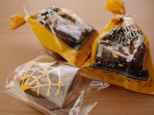 ハロウィンのチョコカップケーキ07