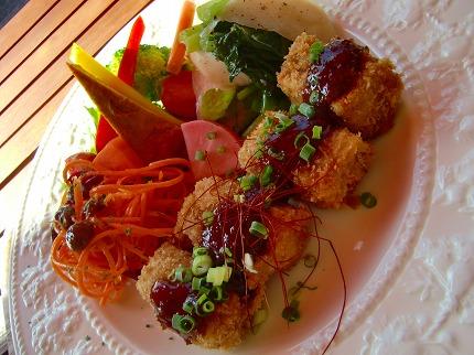 高野豆腐の味噌カツ