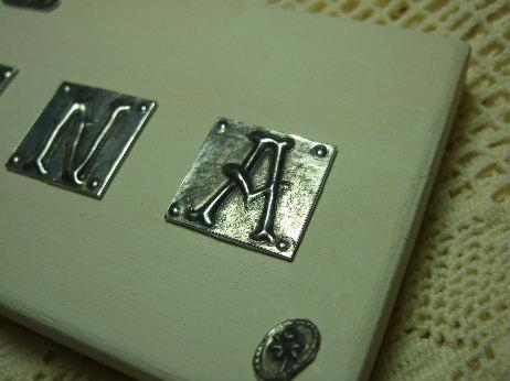 アルファベットプレート1