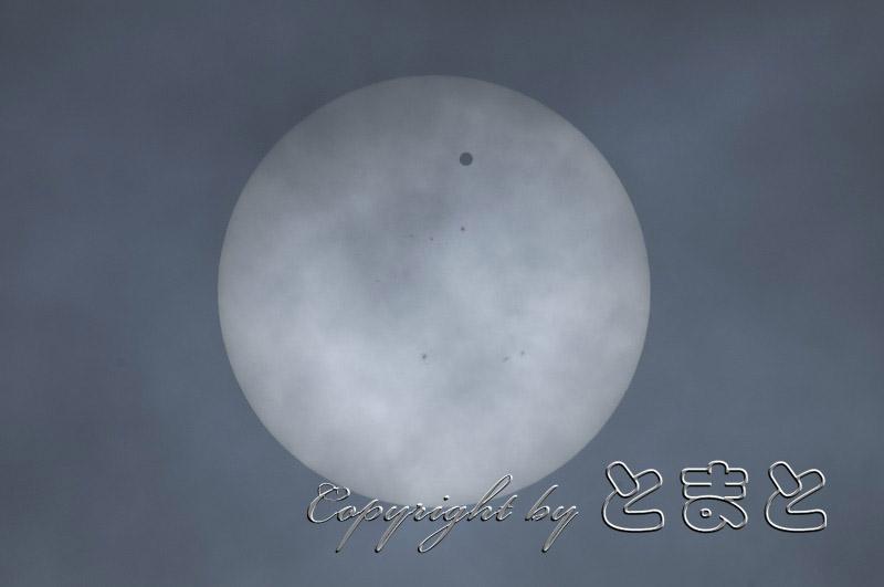 太陽面金星通過