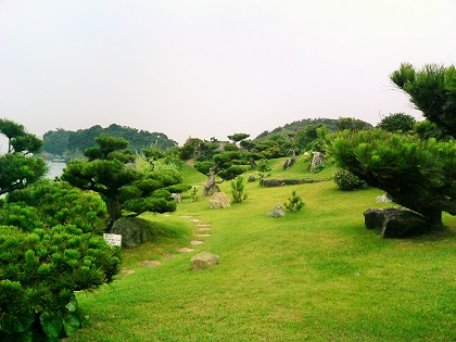 20141111番所1庭園
