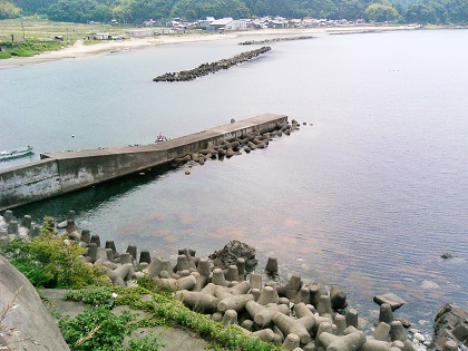 20141126阿曽黒崎の波止1