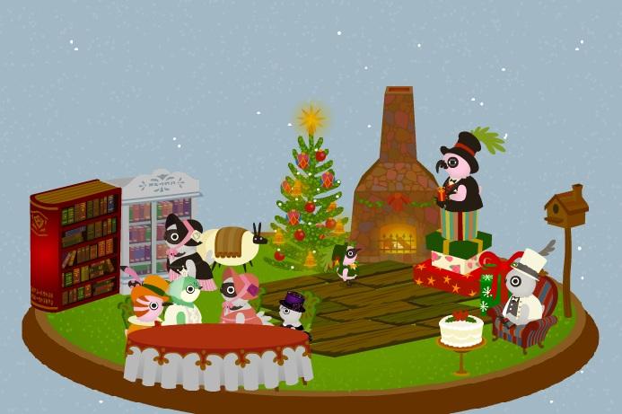 クリスマスはすぐそこ