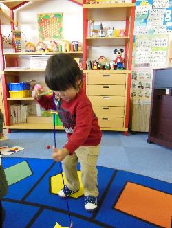 幼児教室MIE 自由遊び