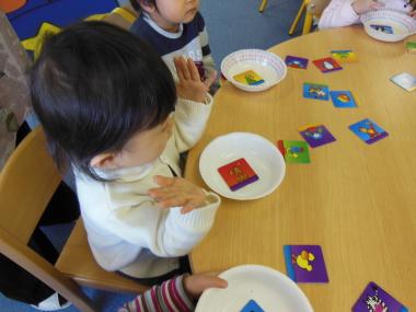 幼児教室MIE 2歳児さんクラス