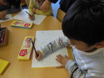 幼児教室MIE オリジナルプリント