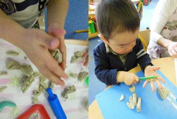 幼児教室MIE 油粘土