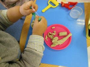 幼児教室MIE 粘土