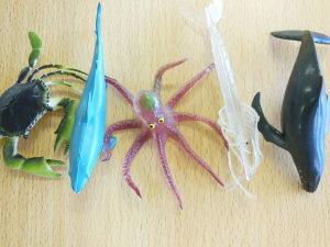 海の生き物 フィギュア