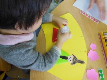 幼児教室MIE ひな人形製作