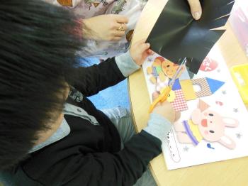 幼児教室MIE 製作の時間