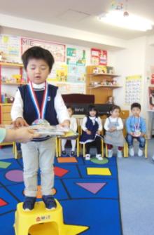 幼児教室MIE 新年長さん