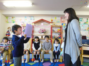 幼児教室MIE 年長さん