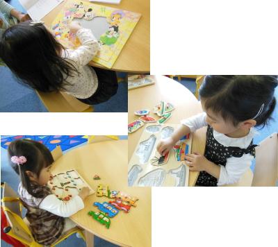 幼児教室MIE 3歳児クラス