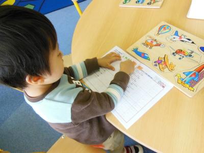 幼児教室MIE パズル
