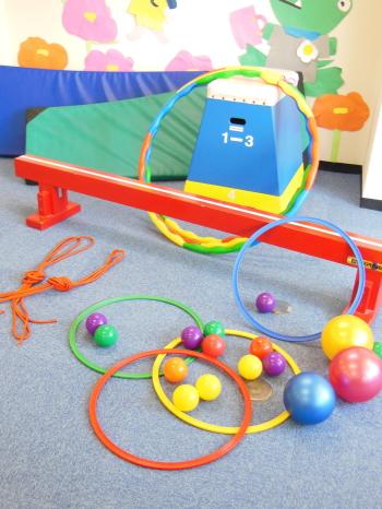 幼児教室MIE 遊具