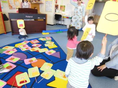 幼児教室MIE リズム遊び
