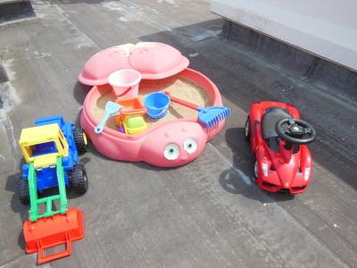 幼児教室MIE 屋上遊び