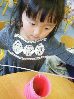 幼児教室MIE 母の日の製作