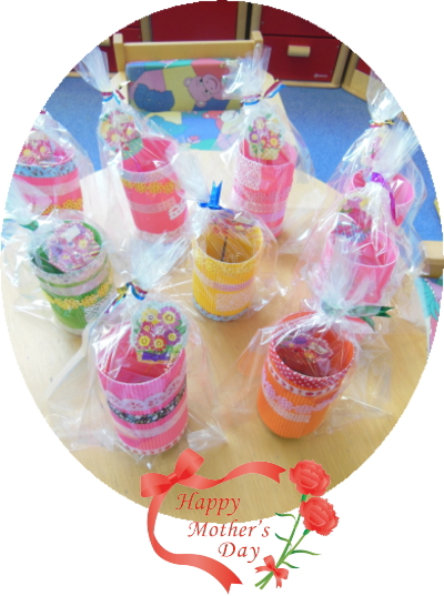 幼児教室MIE 母の日のプレゼント