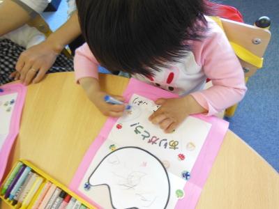 幼児教室MIE 母の日カード