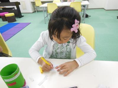 小学校1年生 幼児教室MIE