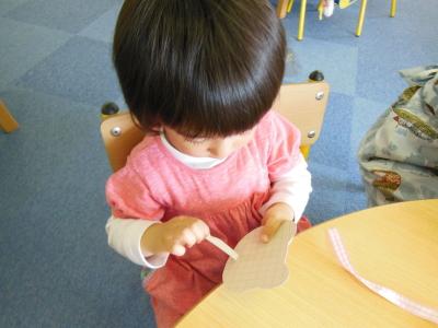 幼児教室 母の日