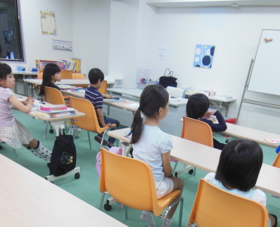 幼児教室MIE 母の日の発表