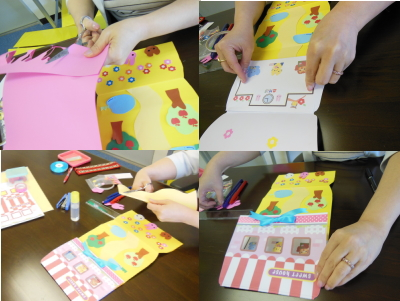 手作りのお誕生日カード