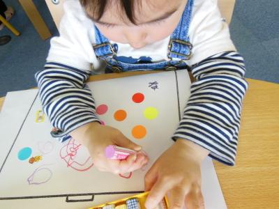 幼児教室MIE 指先トレーニング