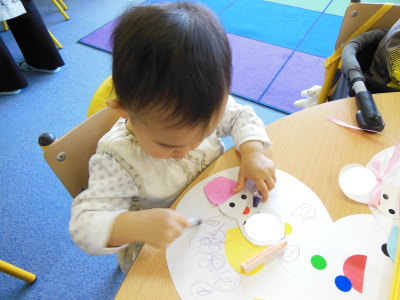 リトルBabyクラス(1歳児さん)