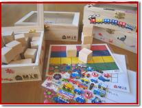幼児教室MIEオリジナル教材 積み木