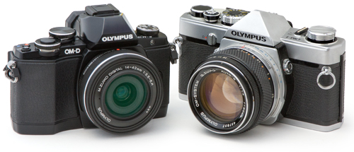 OM-D E-M10とOM-1