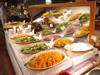 野菜サラダコーナー