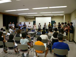 プレ夏のみらい塾2012スタッフ紹介