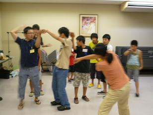 プレ夏のみらい塾2012レクリエーション