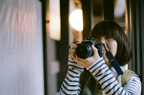 カメラ女子デビュー