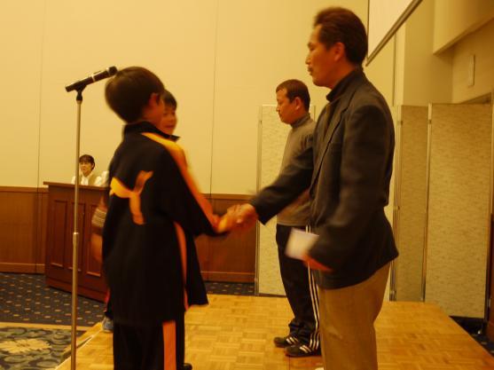 2012卒団式3