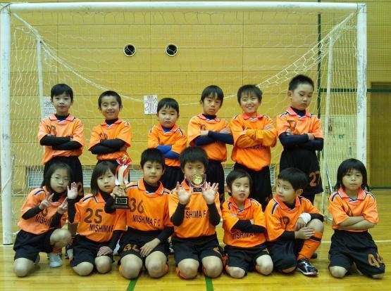 親子サッカー集合写真