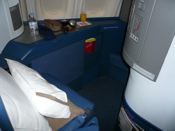 デルタ航空座席