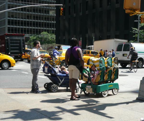 ニューヨーク街角