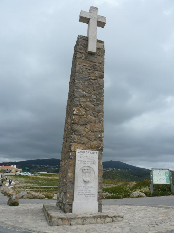 ロカ岬石碑
