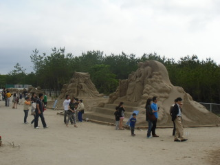 吹上浜砂の祭典