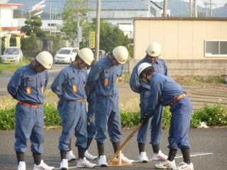 消防団訓練
