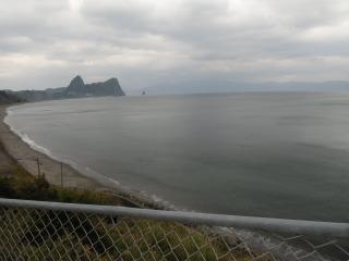 海岸道路整備作業