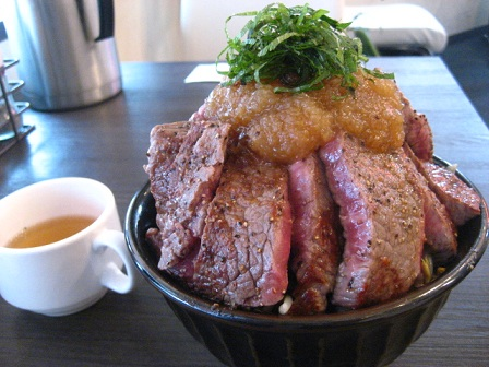 ステーキ丼1