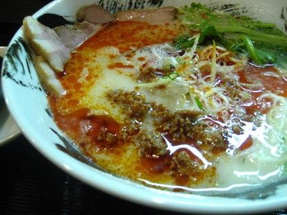 彩々白鶏担担麺1
