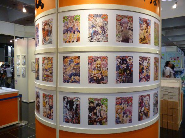 京まふ2012SQブース中央柱1