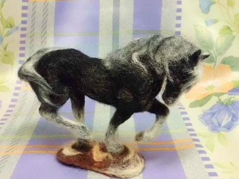 白黒の馬3
